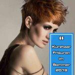 Kurzhaar-Frisuren im Sommer 2019