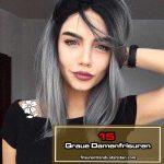 Unsere Top 15 Graue Damenfrisuren