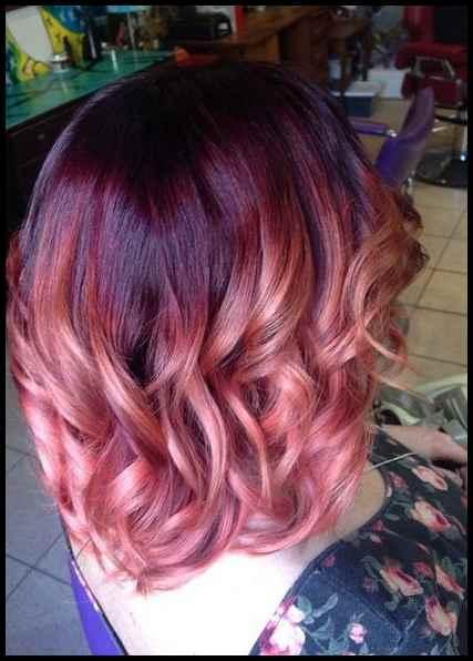 Kurze Haare Farben 2019 Haarfarben Pinterest Bunte Haare