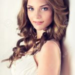 Schöne Model Hairstyle
