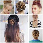 Blumen Braid Frisuren für Jugendliche (2)