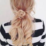 Blumen Braid Frisuren für Jugendliche (3)