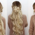 Drei frisuren mit clip in extensions
