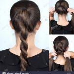 Einfache frisur gedrehten zopf tutorial frisur fur lange haare frisur tutorial hpf5tx