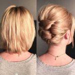Hochsteckfrisuren Einfach Kurze Haare Einfache Alltagsfrisuren Für Kurzes Haar