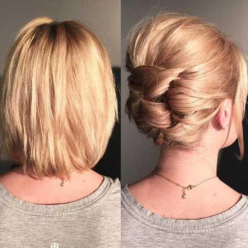 Hochsteckfrisuren Einfach Kurze Haare Einfache Alltagsfrisuren Fur