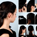 Neues Von Frisur Zopfe Fur Lange Haare Volumen Pferdeschwanz Mit Zopf Tutorial Fur