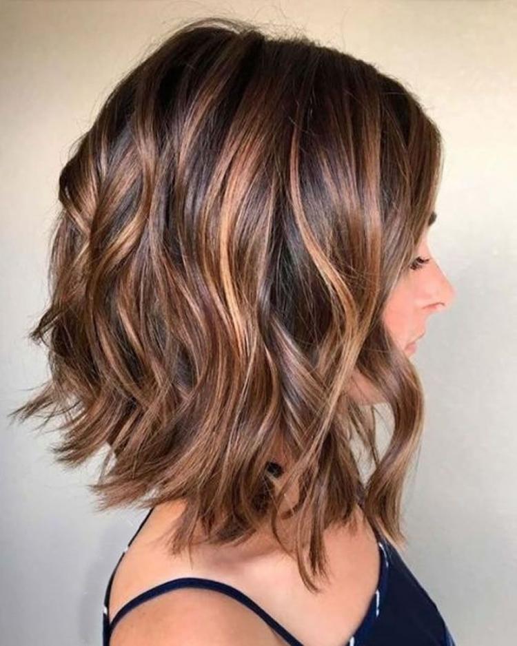 Frisuren 2019 Frisuren Halblang 2019 Frauen Dickes Haar Ovales