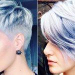 Moderne Kurz Frisuren 2019 Frauen Ovales Gesicht #Kurzfrisuren - Kurzhaarfrisuren 2019