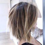 Bob Frisuren Hinterkopf Kurz Wrapped Textured Updo Melissa Rooty Blonde Side Braid Megan