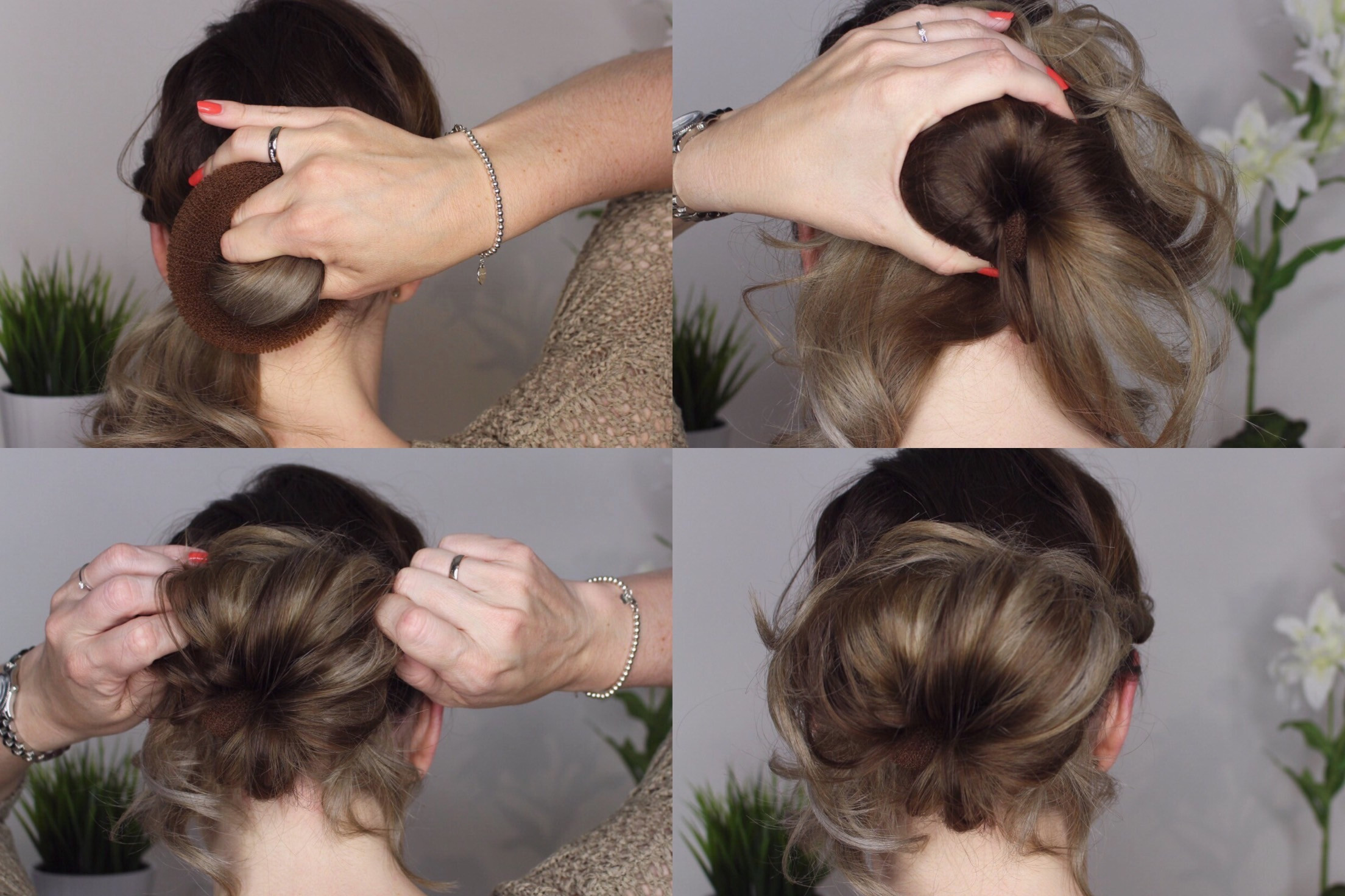 Dutt Im Nacken Elegant Tutorial Einfache 2 In 1 Frisur Frisurenkatalog